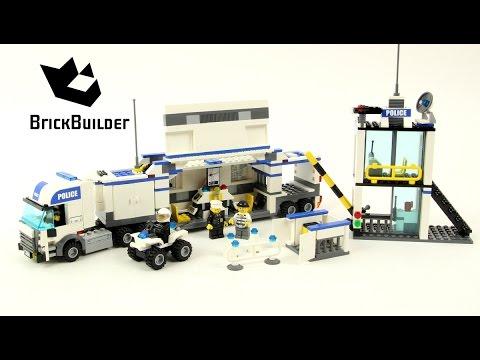 Lego City 7743 Police Command Centre Lego Speed Build Youtube
