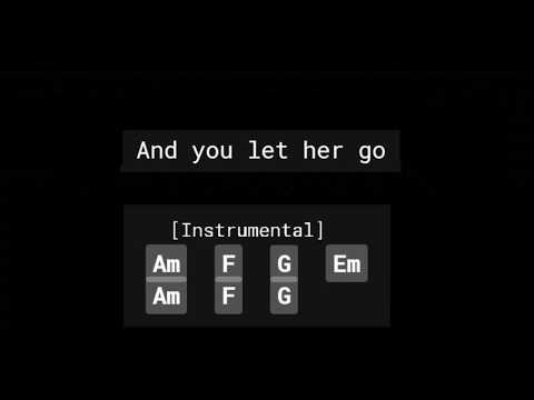 Search Let Her Go Chords Ultimate Guitar MP3 - MUSIC SBY