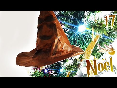 Comment Jour17: DIY Choixpeau Magique Harry Potter | Sapin de Noël ?
