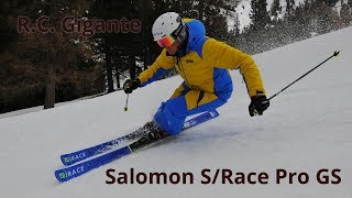 Salomon S/Race Pro GS - Ski Test Neveitalia 2018/2019
