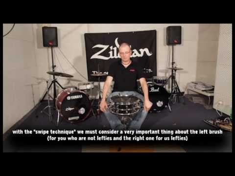 How to play drums with brushes - Stefano Bagnoli Part 1 | The DrumHouse
