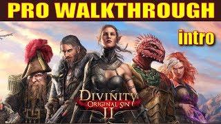 Divinity: Original Sin 2 Walkthrough Tactician Mode - Introduction (BEST. GAME. EVER.)