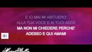 Karaoke -Amami Amami - Mina & Celentano (Con voce donna ) HD