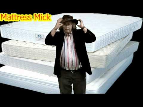 Mattress Mick Flies On A Magic Mattress