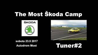 Žlutka Škoda camp Most 2017