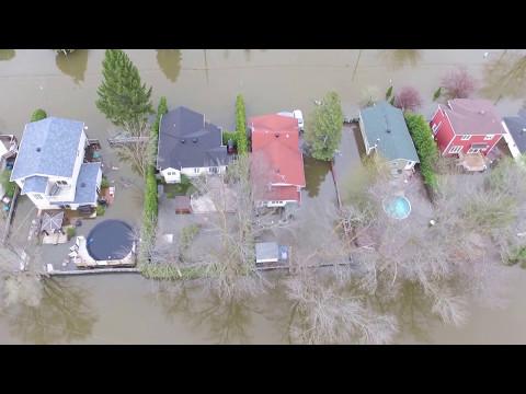 Inondation Deux-Montagnes
