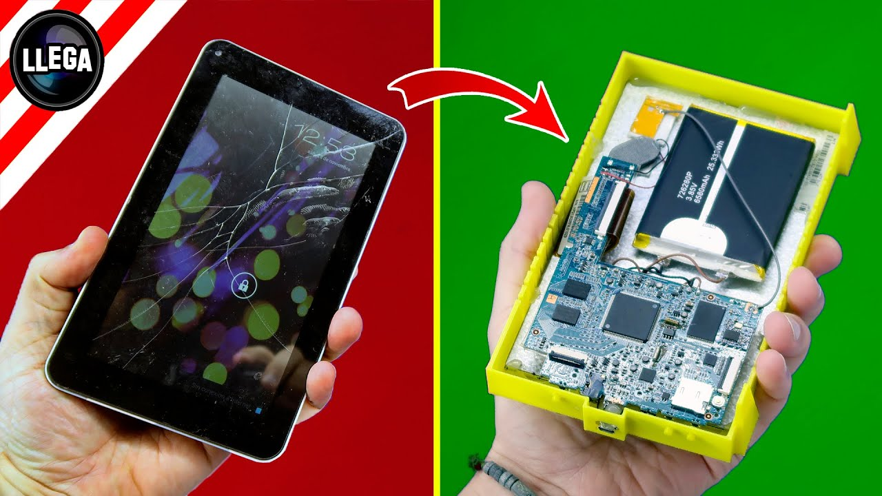 BEFORE BUYING A NEW TABLET WATCH THIS VIDEO - Life Hacks - How To Fix a Cracked Tablet Screen