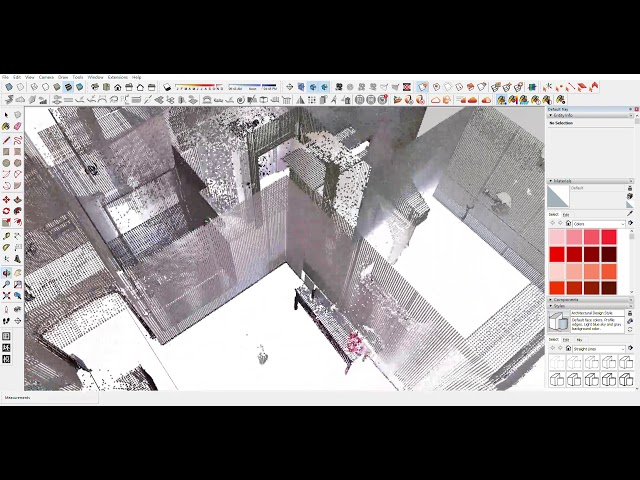 SketchUp Pro  to point cloud/BLK 360 2018 2018 9 17 下午 10 16 39