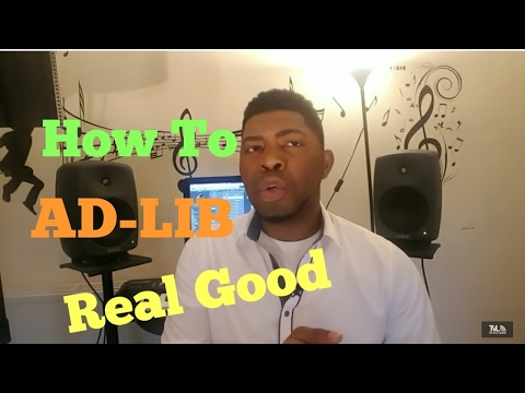 HOW TO ADLIB WHILE SINGING  Vocal Lessons