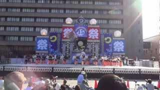2012.10.7 第15回安濃津よさこい 最終日 お城西公園.