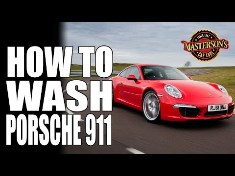 How To Wash A Porsche 911 - Masterson's Car Care - Detailing Tips & Tricks