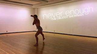 Download Lagu Never Enough | Loren Allred | The Greatest Showman Improv Dance by Madison Lynch Mp3