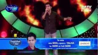 BD Idol TALHA Singing (Tore Mon Diya ) Protikkhar Prohor bY MORUVUMI