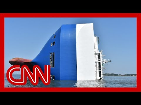 4 missing on capsized cargo ship