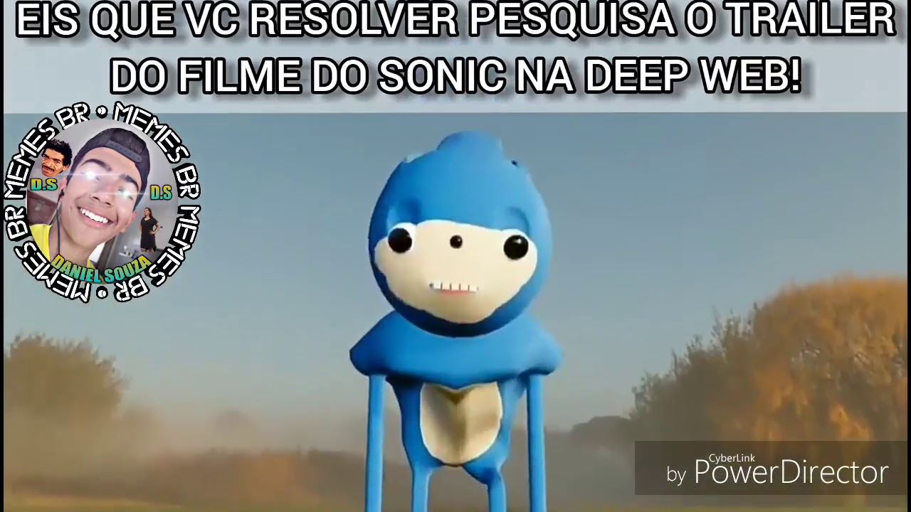 Trailer Do Sonic Na Deep Web Youtube
