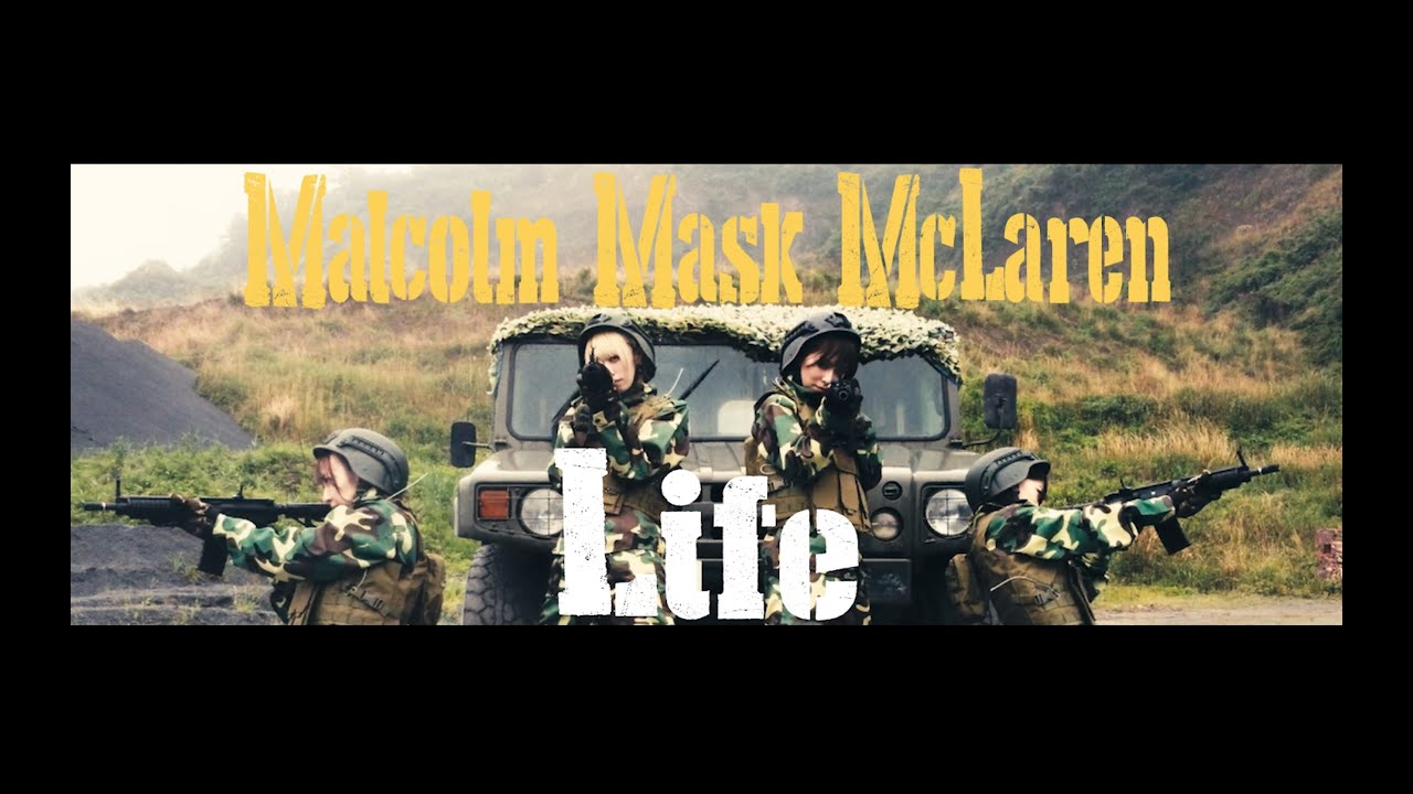 Malcolm Mask McLaren – Life