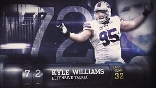 #72 Kyle Williams (DT, Bills) | Top 100 Players of 2015