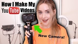 How I Shoot My Vlogs (New Camera, Lighting, Editing)