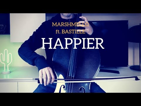 Marshmello ft. Bastille - Happier for cello and piano (COVER)