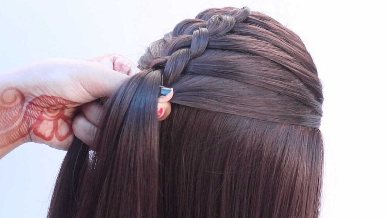 3 new ponytail hairstyle for party   hairstyle for one piece   dutch braid ponytail   hairstyle