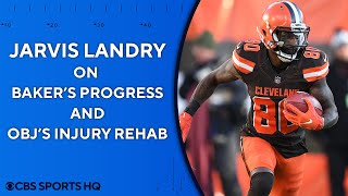 "Jarvis Landry: Playing with BakerMayfield is ""amazing"" 