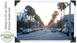 Los Angeles Lifestyle: Things to Do on Abbot Kinney Boulevard | Partners Trust