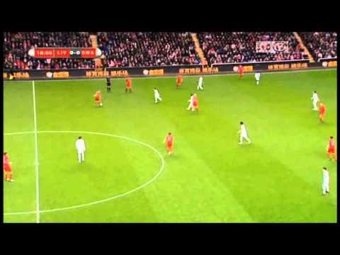 Joe Cole vs Swansea