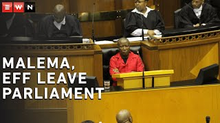 Members of Parliament clashed during the post-Sona debate on Tuesday when EFF leader Julius Malema was repeatedly interrupted during his speech, with allegations of domestic abuse being thrown in all directions.