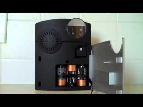 DC 1000 Long Range Wireless Door Chime with Light