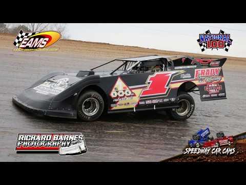 #1 Kenny Collins - NLMSCS - National 100 - 1-27-19 East Alabama Motor Speedway