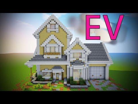 Hayalimizdeki Evi Yaptık | Minecraft Modern Evler