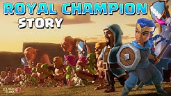 The Royal Champion Origin Story | Clash of Clans & Clash Royale Crossover Story - WoC Story