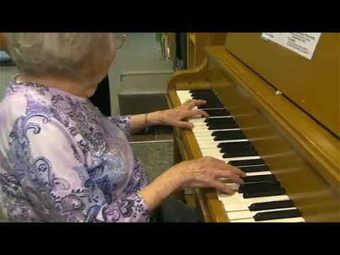 Magic of music: 102yearold's memory triggered  piano