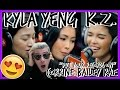 Kyla Yeng And KZ Put Your Records On Corinne Bailey Rae LIVE On Wish 107 5 Bus REACTION mp3