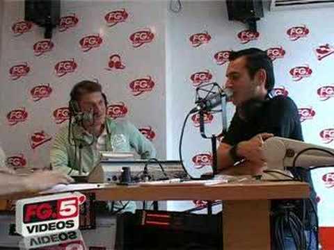 DAVID VENDETTA ET MICAH EN INTERVIEW CHEZ  RADIO FG