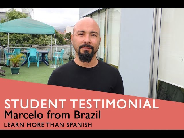 General Spanish Course Student Testimonial by Marcelo form Brazil