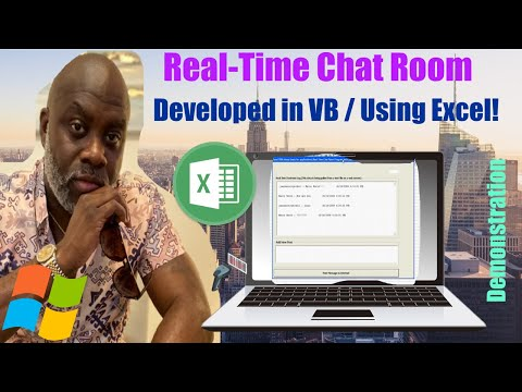 Use MS Excel VBA To Create A Real-Time Chat Room