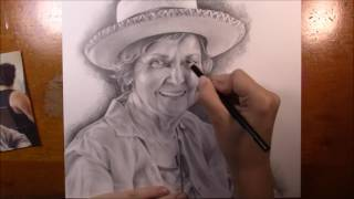 Speed Drawing of My Great Aunt