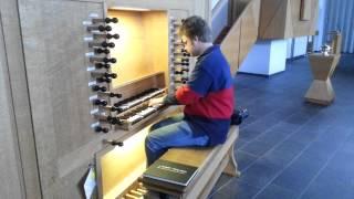 orgel in gereformeerde gemeente Aagtekerke