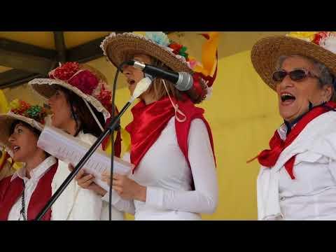 Canti popolari maremmani - Coro dei Mosconi Maremmani alla  Festa Maggio 2018 Ottava Zona