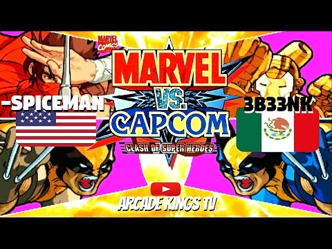 Marvel Vs Capcom  -Spiceman (USA) VS 3b33nk (MEX)