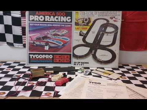 Making an old classic Tyco Pro set work