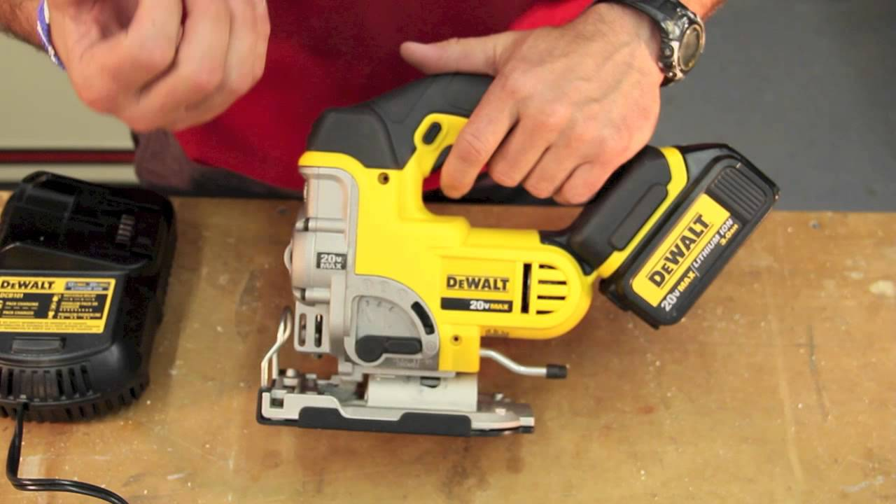 Dewalt dcs331l1 20 volt max lithium ion jigsaw review youtube greentooth Choice Image