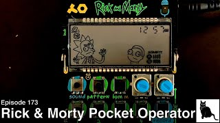 Rick and Morty Pocket Operator, Part 2