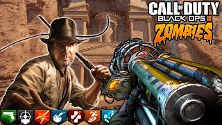 """INDIANA JONES"" ZOMBIES! (Black Ops 3 Zombies INSANE Easter Egg)"