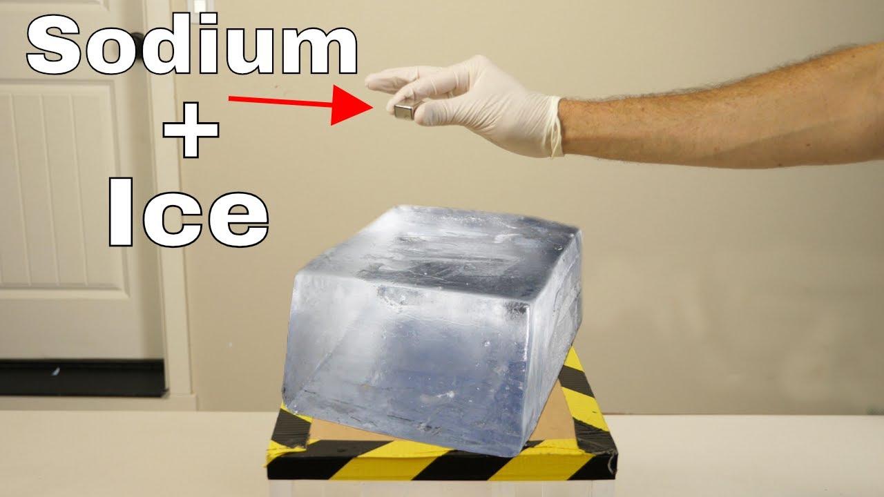 As I Walked Onto Ice I Kept In Mind >> What Happens If You Put Sodium On Ice Does It Still Explode Youtube