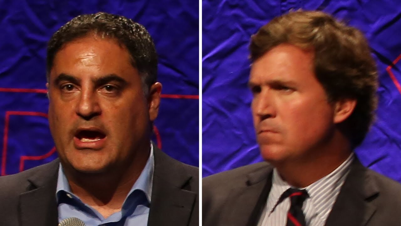 Cenk Uygur vs Tucker Carlson at Politicon 2018