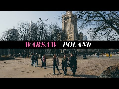A WEEKEND TOUR IN LOVELY WARSAW, POLAND!!!