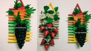 Ide Kreatif Hiasan Dinding dari Stick Es Krim | Popsicle stick craft idea