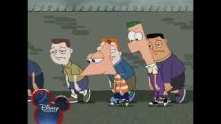 Phineas és Ferb - Lánc és nagy lakat [Disney Channel Hungary]